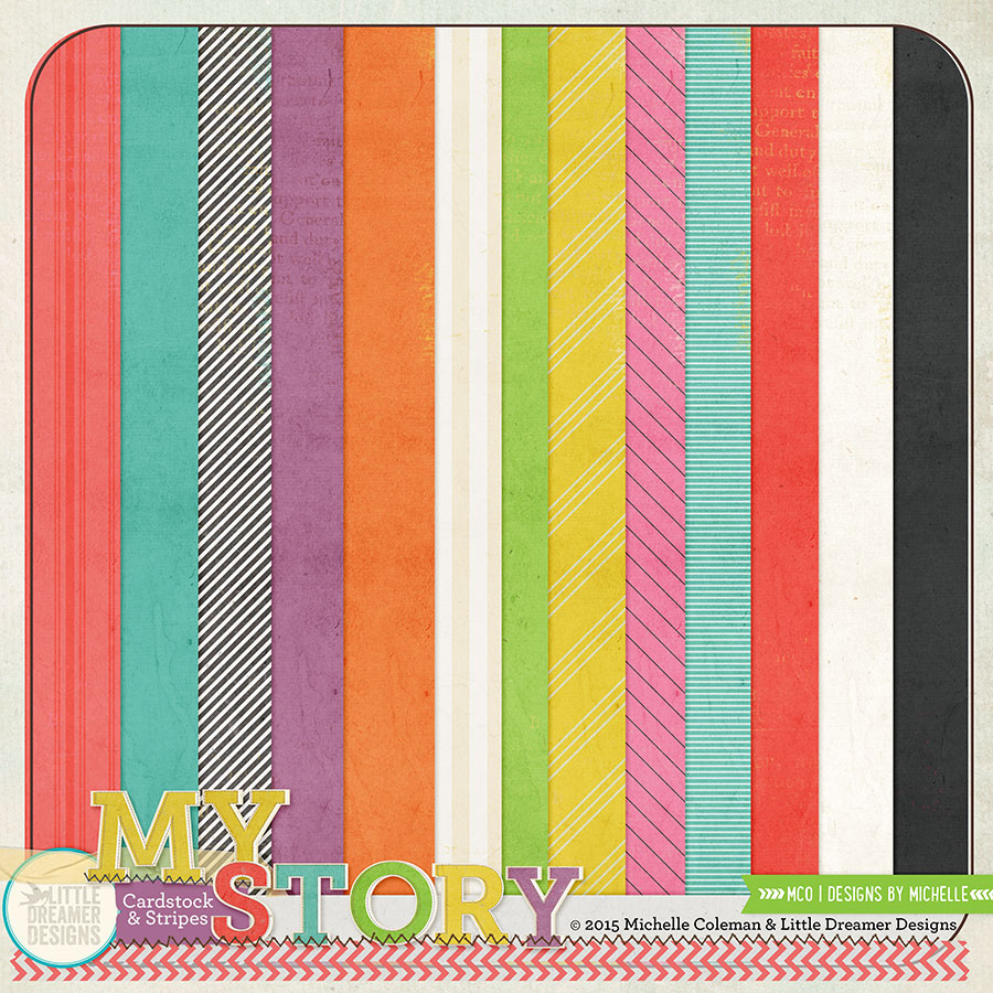 My Story Cardstock