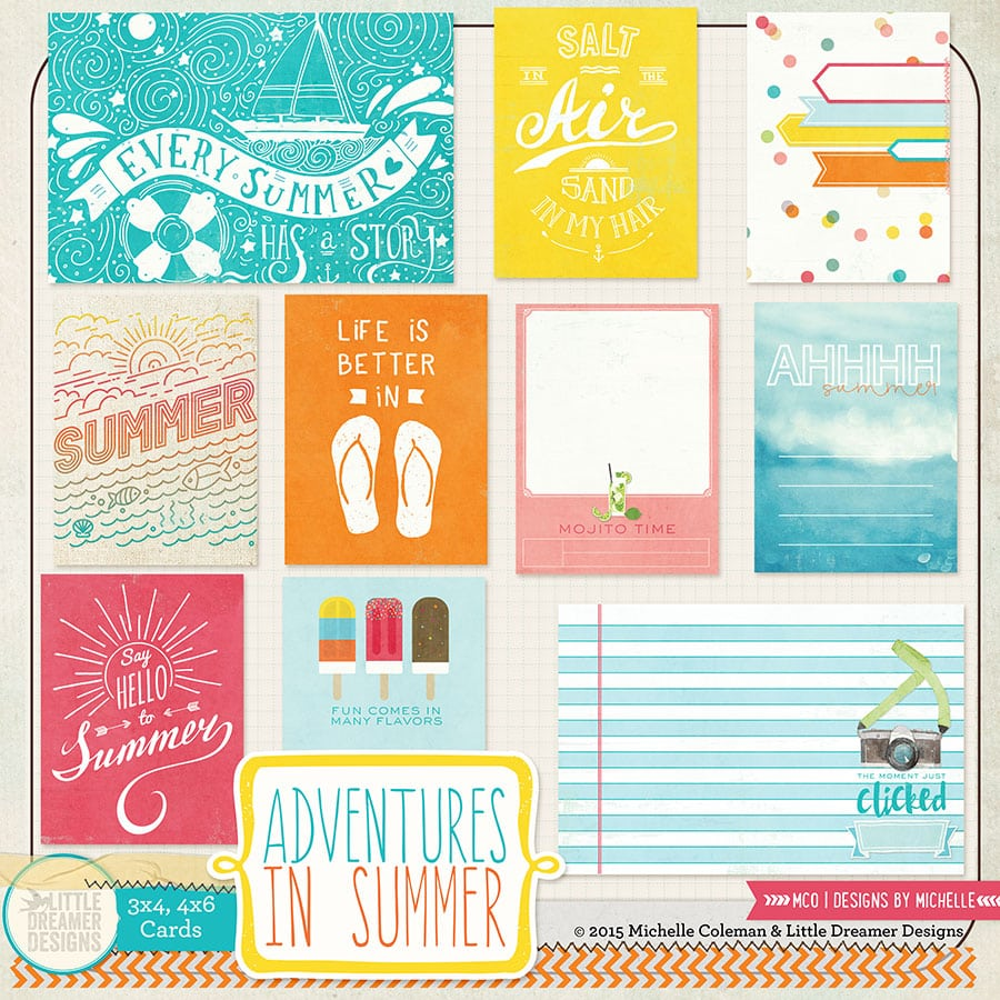 Adventures In Summer Cards