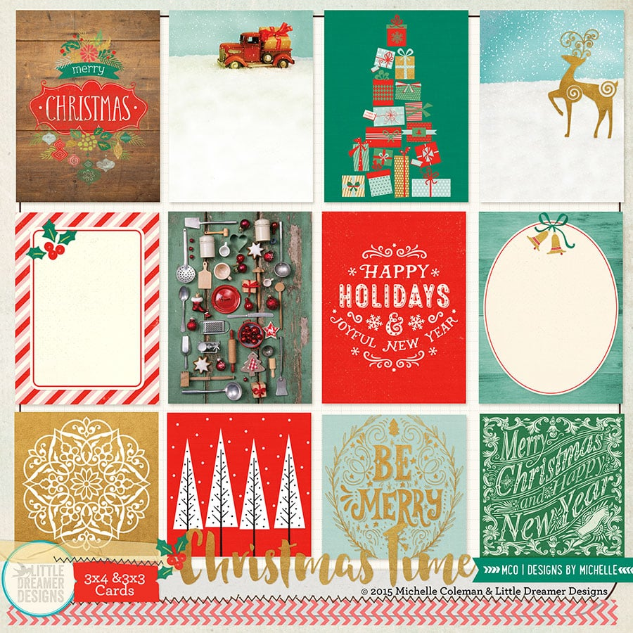 Christmas Time Cards