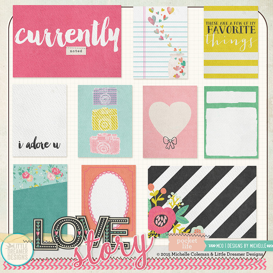 Love Story Pocket Life Cards