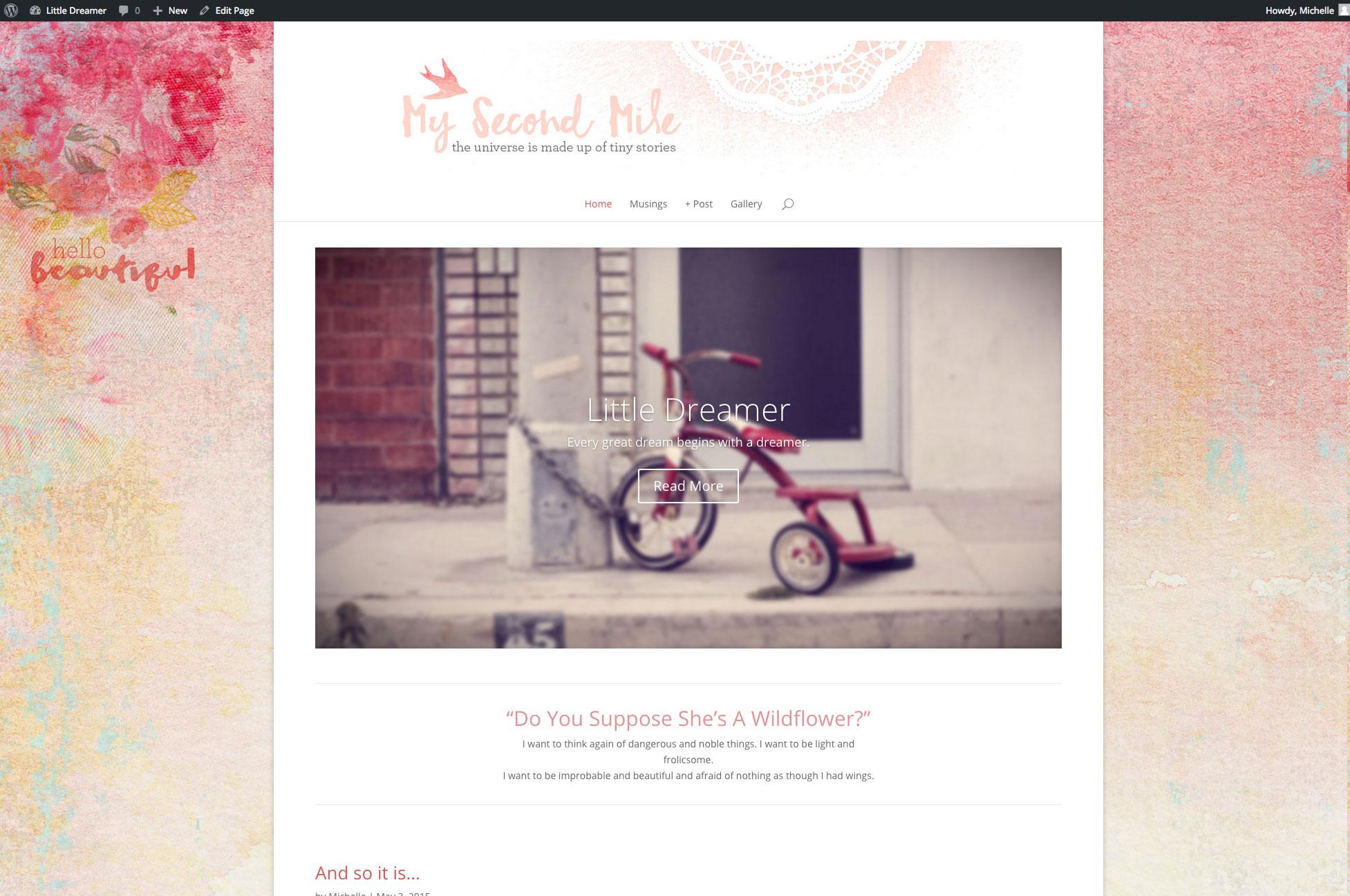 Michelle's Private Blog