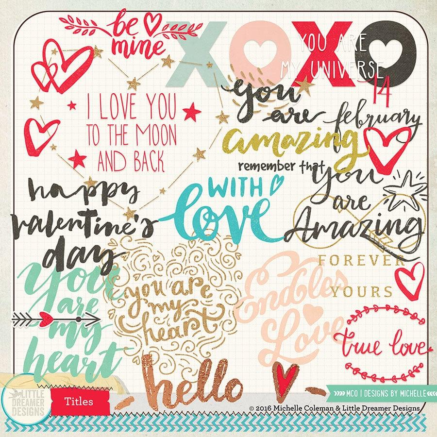 Hello Love Titles