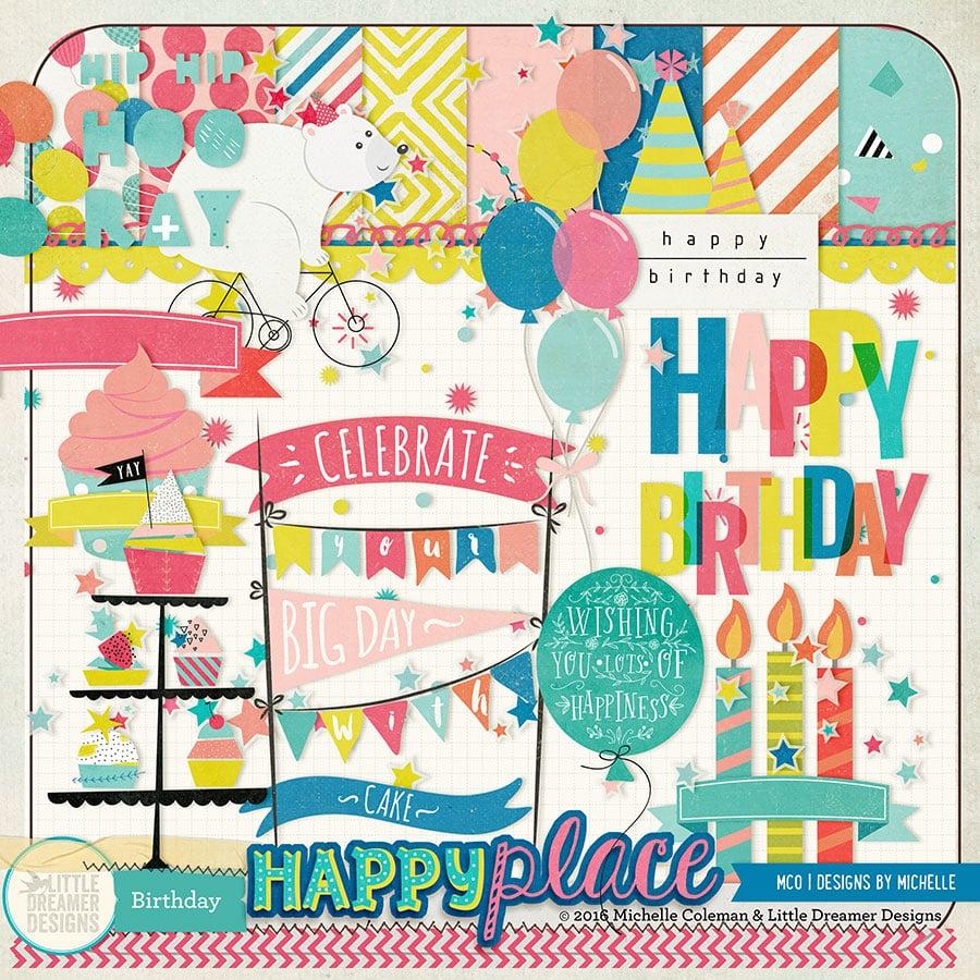 Happy Place Birthday Add On